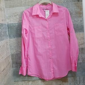 Calypso St. Barth Pink Blouse